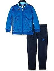 adidas Chándal para niños Tiempo Libre, todo el año, infantil, color Azul - blue/Collegiate navy/Bright cyan, tamaño 15 años (164 cm)