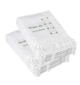 adtechome 10 staubsaugerbeutel aus vlies passend f r vorwerk kobold 135 136. Black Bedroom Furniture Sets. Home Design Ideas
