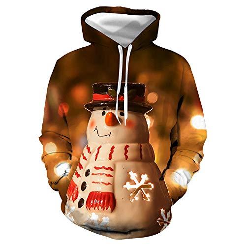 Jiuyaomai Sweatshirt Disfraz Navidad Lindo muñeco