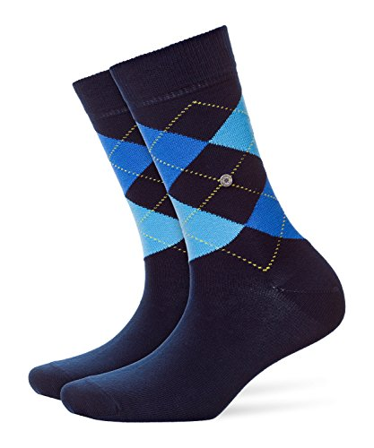 Burlington Damen Strick Socken Queen, Blau (marine 6121), 36/41
