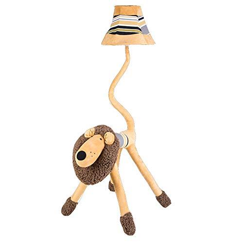 lampadaire NAN Liang Cartoon Cartoon Art Creative Lovely Lion Décoration Light Appliquer à la Chambre des Enfants Chambre Salon