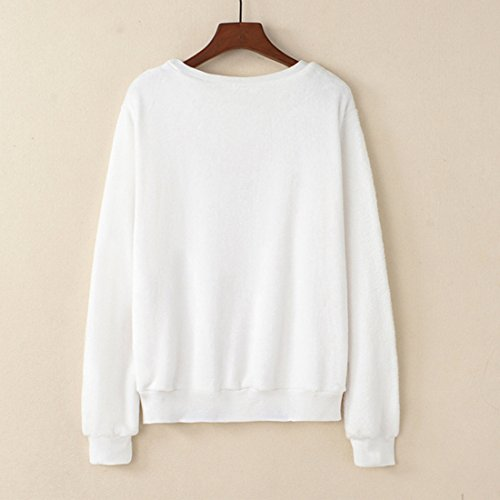 YICHUN Femme Fille Tops T-Shirts Tee-Shirt Court Sweaters Sweat-shirts Pulls Blouse Pull-Overs Jumpers Camisole 13#
