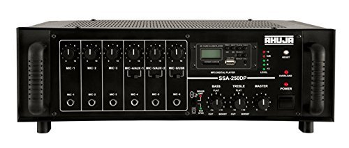Ahuja SSA250DP 50 - 15000 Hz Frequency Amplifier