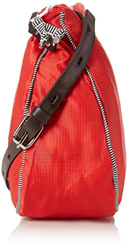Paquetage Cc, Borsa a tracolla donna Rosso (Rouge (071/Rouge))