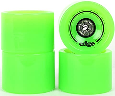 70mm Longboard WHEELS FOR SKATEBOARD with bearings by Two Bare