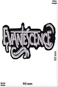 Patch - Evanescence - Alternative-Rock - Nu Metal-Band - Musicpatch - Rock - Vest - Patches - Iron on Patch - Applique embroidery Écusson brodé Costume Cadeau- Give Away