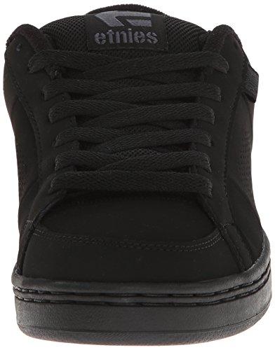 Etnies Kingpin, Chaussures de SkateboardHomme Noir