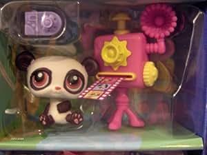 Hasbro - Littlest Pet Shop - Les Petshop autour du monde - Panda chinois photographe -#387