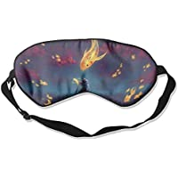 Art Fantasy Goldfish Kitten Sleep Eyes Masks - Comfortable Sleeping Mask Eye Cover For Travelling Night Noon Nap... preisvergleich bei billige-tabletten.eu