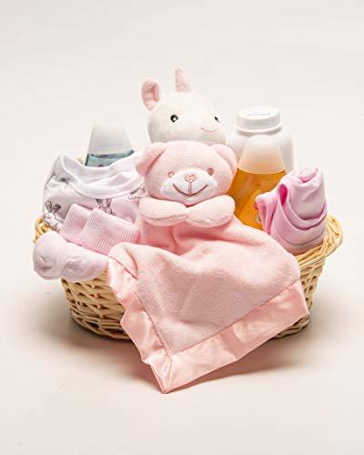 Panier cadeau pour nouveau-né fille