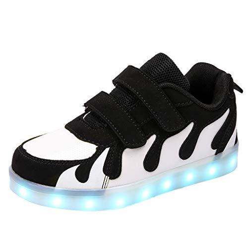 Sanahy_baby beschuht LED-Turnschuh-Sport, Mode-Unisexjungen-Mädchen-leuchtende Kinderschuhe