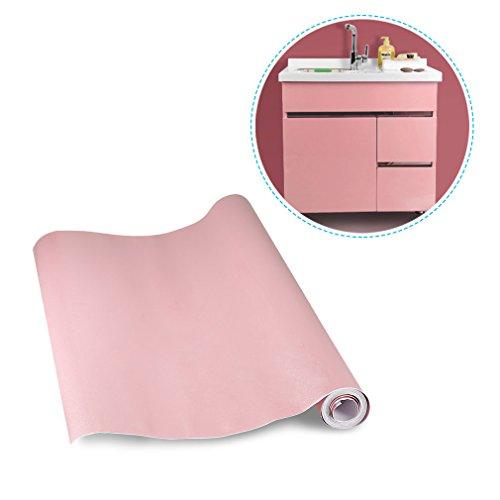 KINLO pink 0.61 x 5 M PVC Selbstklebend Möbelfolie Küchenschrank-Aufkleber Küchenfolie Kein Luftblase , flattert nicht ,schöne Folie...