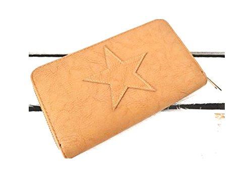 damen-geldborse-geldbeutel-portemonnaie-etui-stern-star-cognac-braun-8051