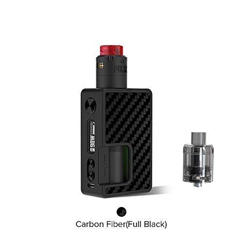 Vandy Vape Pulse X Squonk Kit Edizione Speciale, Vandy Vape Pulse X BF Mod  e Pulse V2 RDA Atomizzatore-Niente Nicotina e Tabacco (Pieno Nero)
