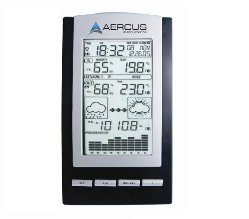 Aercus Instruments WS1173 Desktop Weather Station Wireless + Free Beginner's Guide (eBook)