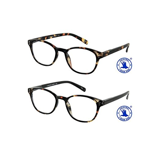 I Need You Lesebrille Cambridge - Dioptrien: +2,50 Havanna-Schwarz