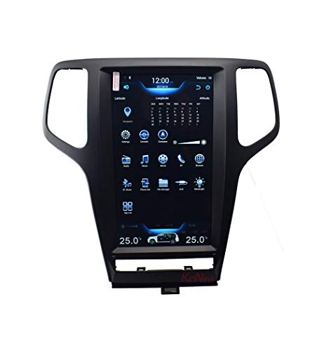 Jeep Grand Cherokee Im Dashboard-Video-Player, 13,6-Zoll-Touchscreen-Multimedia-Player, Multifunktions-GPS-Navigation, Android-System, WiFi, Bluetooth (Jeep Grand Cherokee Radio-bildschirm)