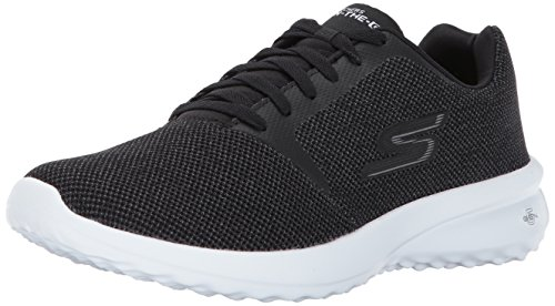 Skechers Men's On the Go City 3.0 Walking Shoe,Black/White,9.5 M US (Performance Freizeitschuh)