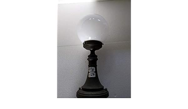 Naturii plafoniera applique lampione da esterno con globo bianco