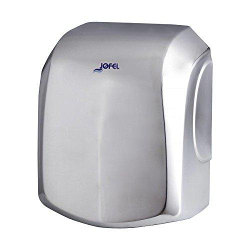 Jofel AA18000 - Secamanos Ave Alto Rendimiento, Inox Brillo, 1500W