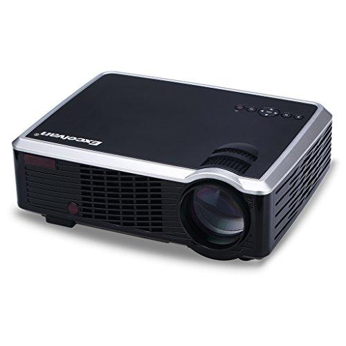 Foto Excelvan 33+ LED Videoproiettore Portabile (2600 Lumens 850x800 Home Cinema...