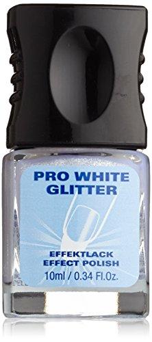 alessandro Pro white Effektlack Glitter, 1er Pack (1 x 10 ml)
