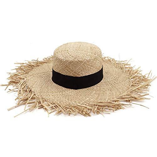 Yunt-11 Sombrero Sol Enrollable Panamá ala Ancha