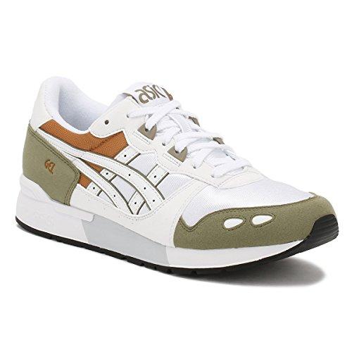 Asics Tiger Sneaker Da Uomo Bianco / Oliva / Arancione