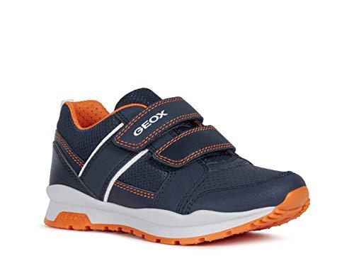 Geox Boy Low Shoes J CORIDAN BOY, Kids Shoes with Velcro Fastener