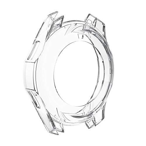 Vamoro Ultradünne weiche TPU Schutzhülle aus Silikon für Samsung Gear S3 Frontier Weiche Ultradünne TPU Schutzhülle Rundherum Schutz Schlankes Case(Clear)