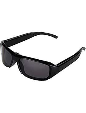 TOOGOO(R) Nueva PC gafas de sol de mini camara digital DV Video - Recorder Eyewear videocamara Audio - TF