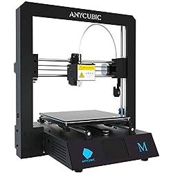 ANYCUBIC I3 Mega Impresora 3D Todo Metal con cama patentada Ultrabase calefactada y pantalla táctil de 3,5 pulgadas Tamaño de impresión grande 210 x 210 x 205 mm, Funciona con PLA, ABS, HIPS, Madera