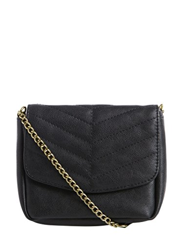 PIECES Pcnabio Cross Body Bag, Borsa a tracolla donna Black