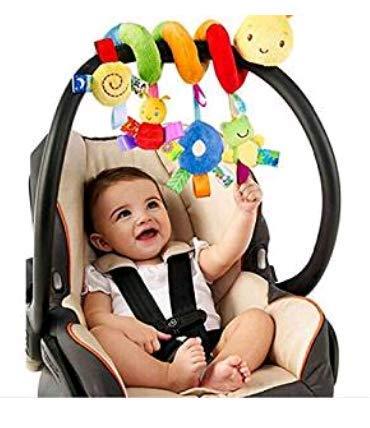 Dasuke bambino passeggino passeggino letto spirale attività giocattoli appesi (A)