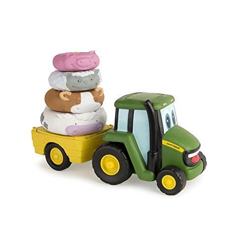John Deere 46403 - Johnny Traktor Stapel Spaß, Mehrfarbig