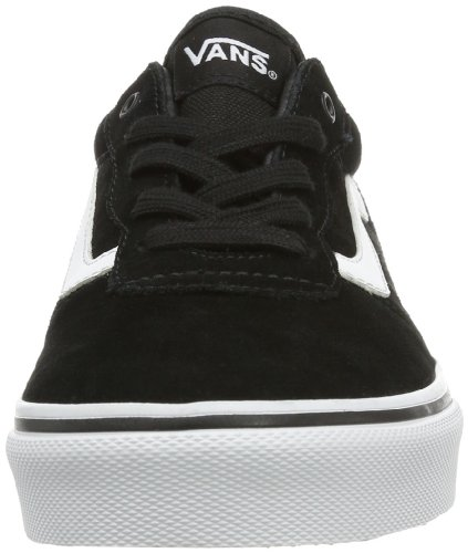 Vans Y MILTON  (SUEDE) BLACK/W, Sneaker unisex bambino Nero (Noir (Black/White))