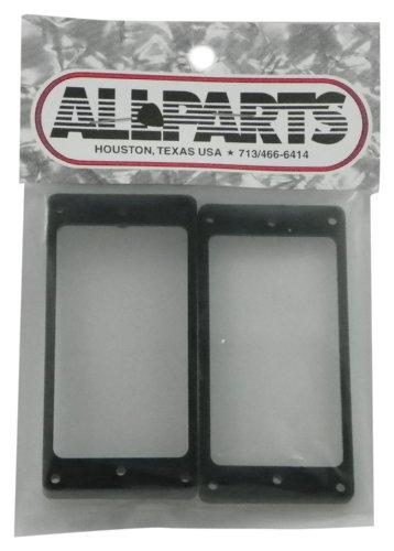Rahmen-teile-set (Allparts PC-0743-023 Humbucker Rahmen Set für flache Decken schwarz)