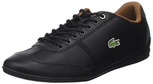 Lacoste Mens Misano Sport 317 1 Coach Low Black (blk / Blk)