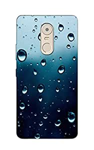 Mikzy Premium Quality Printed Designer Back Cover Case for Lenovo K6 Note (Multicolour)