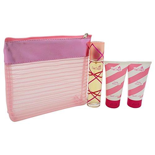Aquolina Pink Sugar SET 50ml EDT Spray + BL + SG + BAG