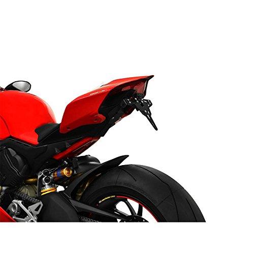 Preisvergleich Produktbild Ducati Panigale V4 BJ 2018 Kennzeichenhalter Kennzeichenträger Nummernschild Halter / Halteplatte (inkl. Kennzeichenbeleuchtung und Rückstrahler) – IBEX Pro
