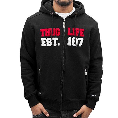 Thug Life -  Felpa con cappuccio  - Uomo 187