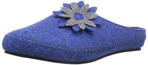 Rohde - Salla, Pantofole A Casa da donna Blu (Blau (50 Blau))