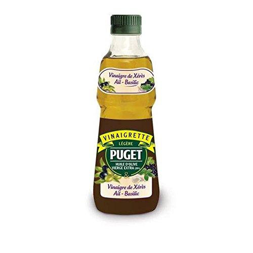 Puget vinaigrette légère biphasée vinaigre de xérès ail basilic 330ml - ( Prix Unitaire ) - Envoi Rapide Et Soignée