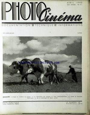 photo-cinema-no-511-du-01-04-1943-tuefferd-image-en-couleurs-sur-papier-fabrication-des-plaques-et-films-phtographiques-art-et-technique-du-dessin-anime