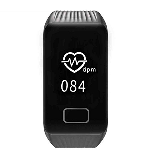 Blutdruckmessgerät Blutdruck Smart Armband Large-Screen-Messung Pulsoximeter Wetter Push-Informationen Schrittzähler Farbe Wasserdicht Armband