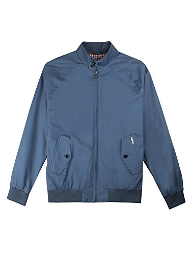 Ben Sherman Herren Jacke Core Harrington Blau (Blue Shadow 119)