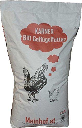 Bio Legehennen & Wachtelfutter pelletiert, Genfrei! - 2