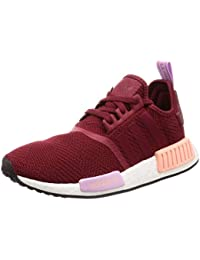 size 40 a35a2 dd41a adidas NMDR1 W Chaussures Femme Bordeaux