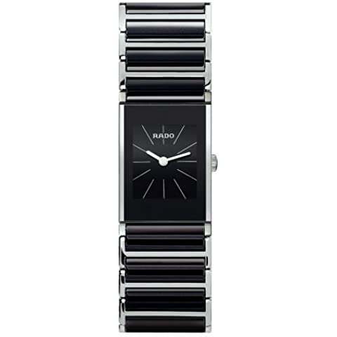 Rado Mujer r20786152integral negro Dial reloj por Rado